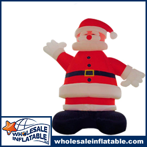 25 Foot Tall Inflatable Santa