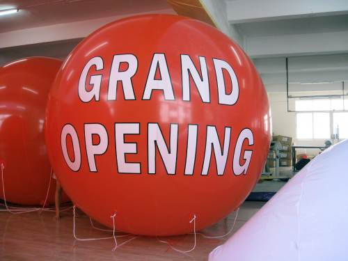 8 Foot Tall GRAND OPENING Balloon