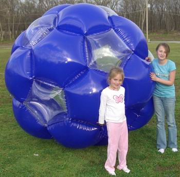 7 Foot Tall Blue Giga Ball  Homeowner version