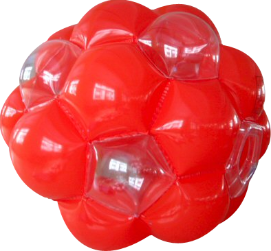 7 Foot Tall Red Giga Ball ~ Commercial version