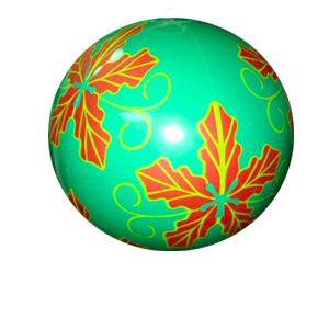 12 Inch Inflatable Green Christmas Ornament Balloon