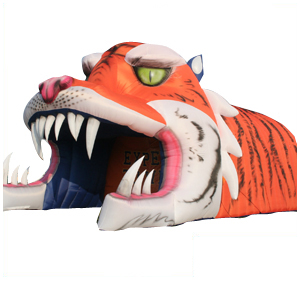 Tiger Foot Ball Sports Tunnel