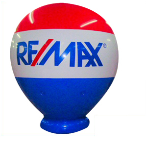 OVER 8' TALL NEW HELIUM REMAX BALLOON