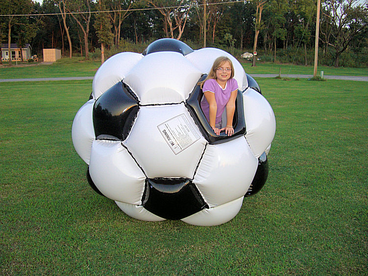 7 Foot Tall Soccer ball Giga Ball ~ Commercial version
